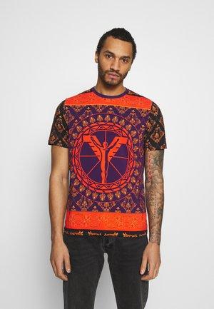 COLOURS UNISEX - Print T-shirt - black