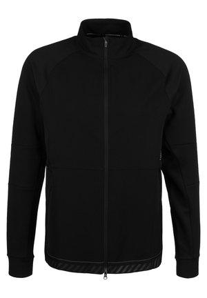 Q SPEED RUN CREW LAUFJACKE HERREN - Training jacket - black