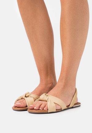 VEGAN AUBRIELLE - Sandals - yellow