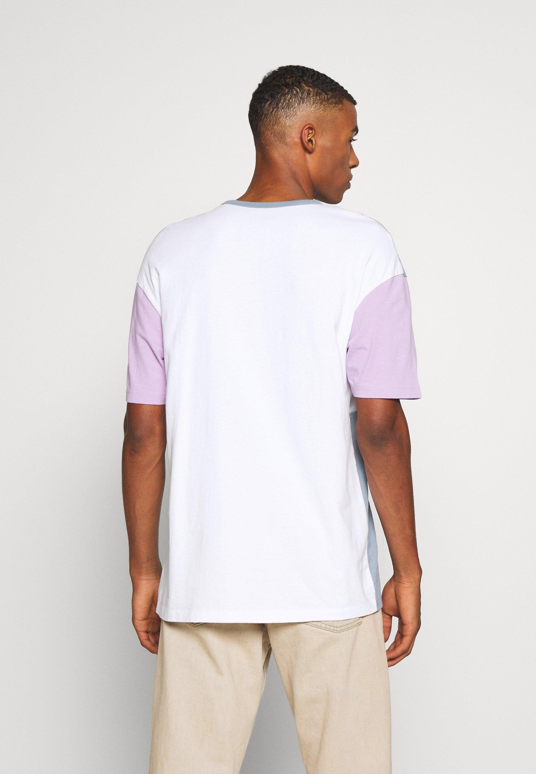 Jack & Jones JORASPREY TEE CREW NECK - Print T-shirt - ashley blue R5JvA