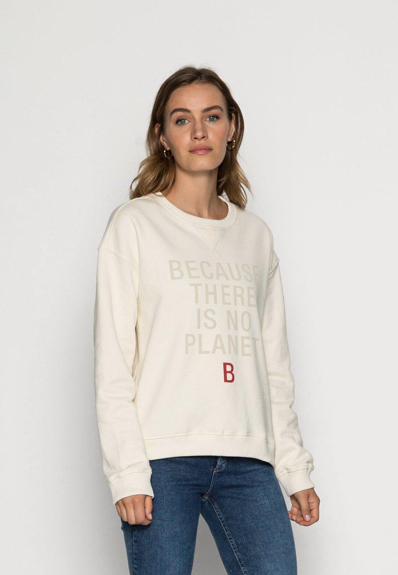Ecoalf - LLANESALF BECAUSE WOMAN - Sweatshirt - light beige
