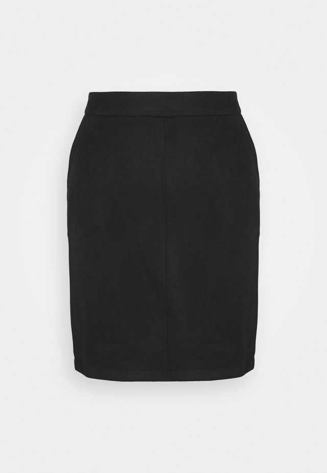 VIFADDY SKIRT - Kokerrok - black