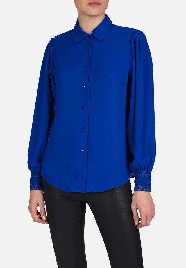 CHEMISE - Button-down blouse - blu01