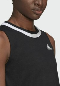 adidas Performance - CLUB KNOT TANK TENNIS AEROREADY PRIMEGREEN REGULAR TOP - Top - black - 4