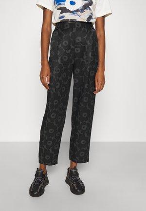 LEHMUS MINI UNIKKO TROUSERS - Trousers - black/dark grey