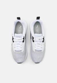 Puma - COMET 2 UNISEX - Neutral running shoes - white/black - 3