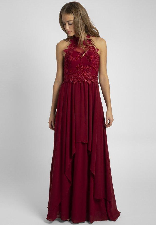 Suknia balowa - burgundy