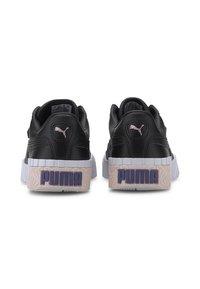Puma - CALI YOUTH - Trainers - black/rosewater/purple - 3