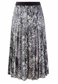 Alba Moda - A-line skirt - silbergrau,schwarz - 2