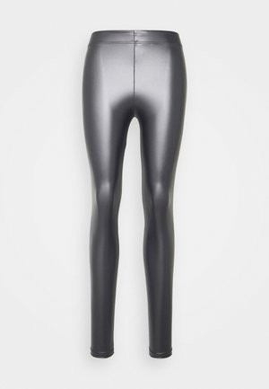 Leggings - silver
