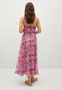 Mango - GEMUSTERTES - Day dress - rosa - 1