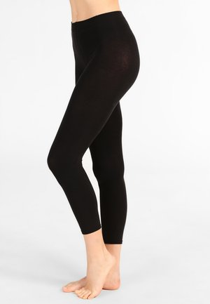 SENSUAL - Leggings - black