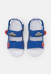 adidas Performance - SWIM UNISEX - Pool slides - team royal blue/footwear white/vivid red - 3