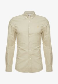 Farah - BREWER SLIM FIT - Shirt - sandstone - 5