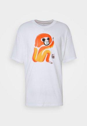 SKATE UNISEX - T-shirt print - white