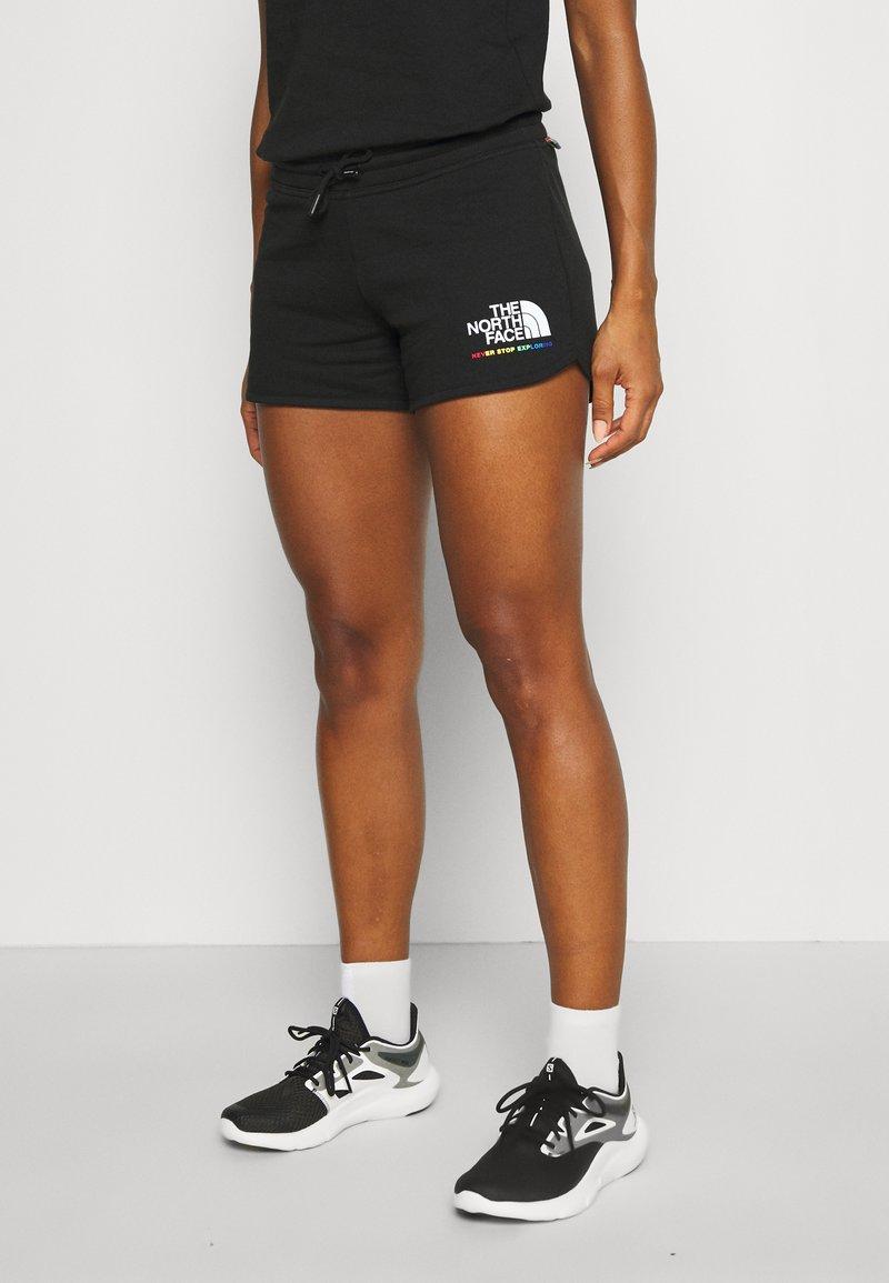 The North Face - RAINBOW SHORT - Sports shorts - black
