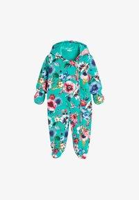 Next - FLORAL  - Sleep suit - blue - 0