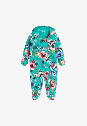 FLORAL  - Sleep suit - blue