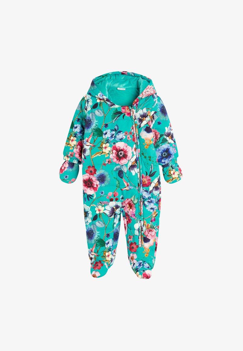 Next - FLORAL  - Sleep suit - blue