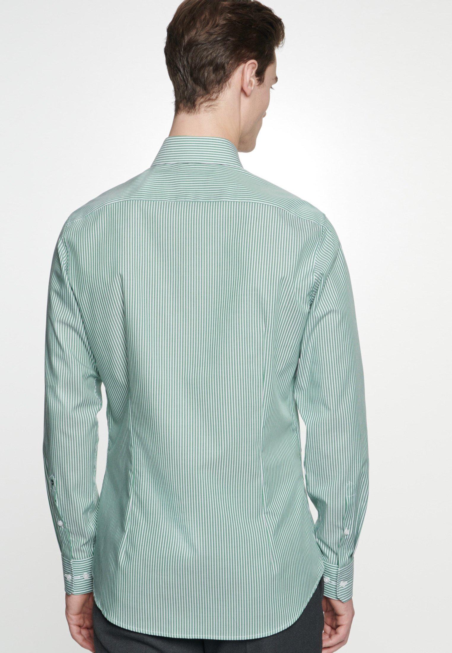 Seidensticker SLIM FIT - Chemise - green