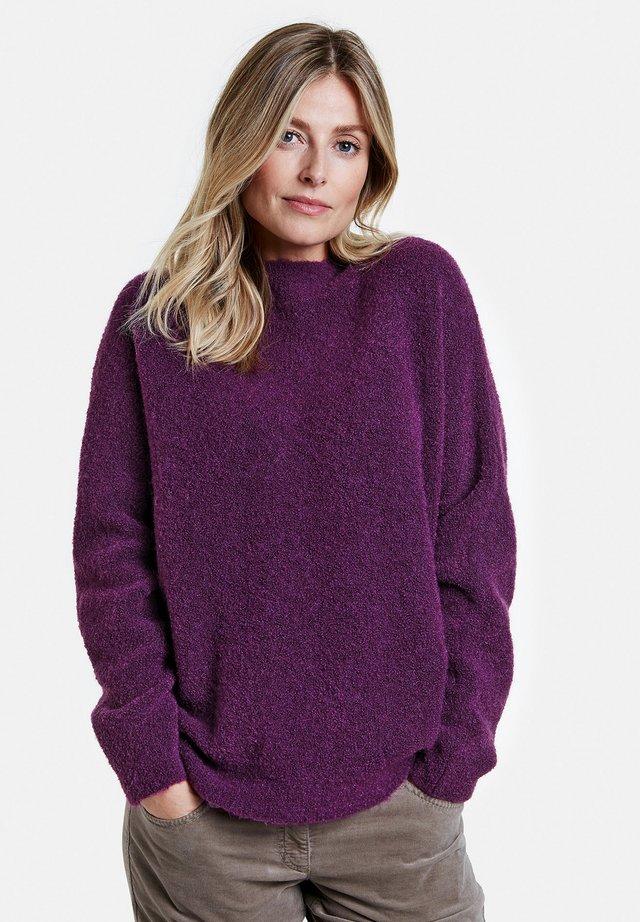 Pullover - berry melange