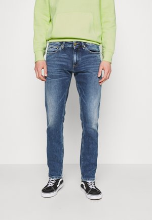 SCANTON SLIM - Slim fit jeans - barton mid blue