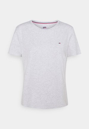 SOFT TEE - Basic T-shirt - silver grey heather
