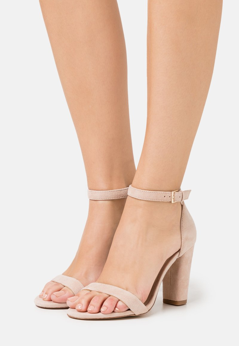 ALDO Wide Fit - JERAYCLYA - High heeled sandals - bone