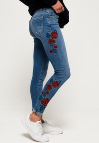 Superdry - CASSIE  - Jeans Skinny Fit - american blue - 3