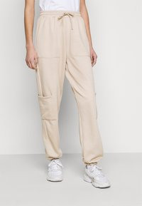 Topshop Tall - UTILITY JOGGER - Tracksuit bottoms - stone - 0