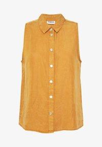 NMDANNY ENDI - Button-down blouse - brown sugar