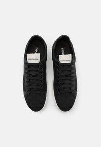 Emporio Armani - Sneakers basse - black - 3