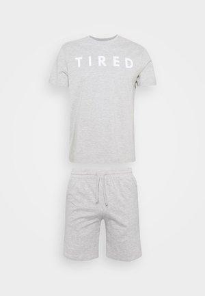 Pyjamas - mottled dark grey
