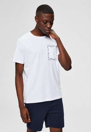 T-SHIRT REGULAR FIT - Print T-shirt - bright white