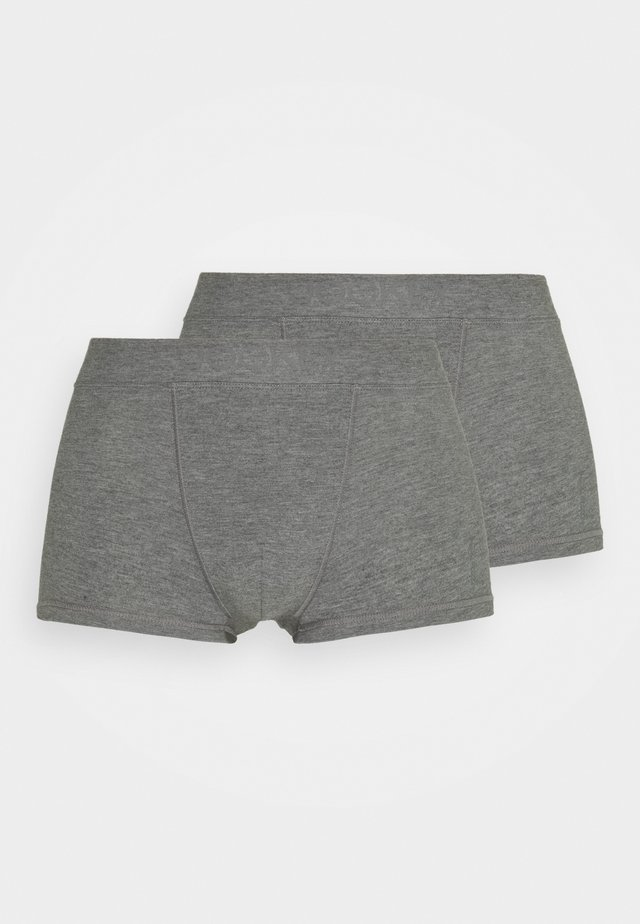SHORT TRUNK 2 PACK - Underbukse - grey