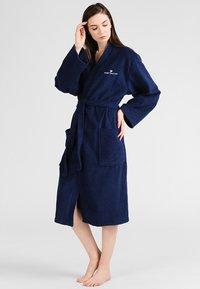 TOM TAILOR - BASIC KIMONO - Dressing gown - navy - 4