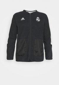 adidas Performance - REAL MADRID - Club wear - carbon/chalk white - 5