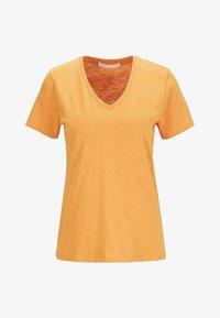 BOSS - Basic T-shirt - open yellow - 3
