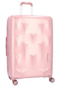 Hedgren - EDGE CARVE - Wheeled suitcase - blush - 2