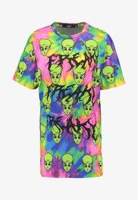 Jaded London - TIE DYE FREAKY ALIEN PRINT DRESS - Jersey dress - multi - 4