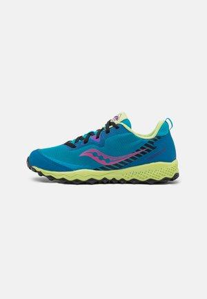 PEREGRINE 11 SHIELD UNISEX - Trail hardloopschoenen - turquoise/multi-coloured