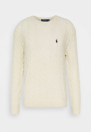 CABLE  - Pullover - andover cream