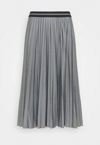 Esprit - PLEATED SKIRT - Pleated skirt - gunmetal - 0