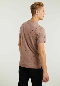 CHASIN' - LEO - Print T-shirt - pink - 1