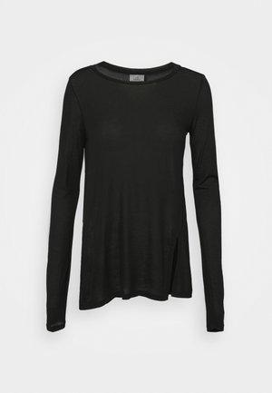 YOGA - Long sleeved top - black