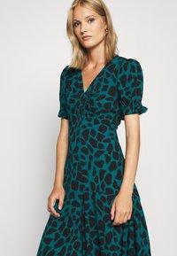 Diane von Furstenberg - ALEXIS DRESS - Day dress - medium teal - 4