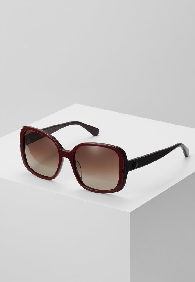 ELIANNA - Sunglasses - burg patt