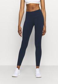 Sweaty Betty - POWER WORKOUT LEGGINGS - Punčochy - navy blue - 0