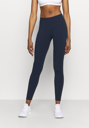 POWER WORKOUT LEGGINGS - Medias - navy blue