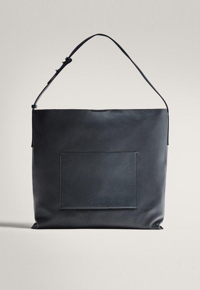MIT VICHYKAROS  - Shopping bags - blue